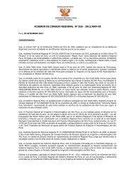 acuerdo n° 826 -2012 - Gobierno Regional de Piura