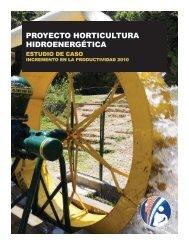 PROYECTO HORTICULTURA HIDROENERGÉTICA - PACTA