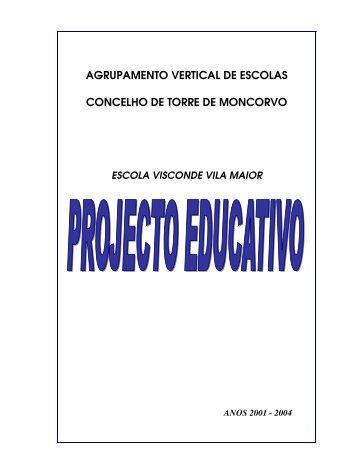 Projecto Educativo - EB23 Visconde Vila Maior