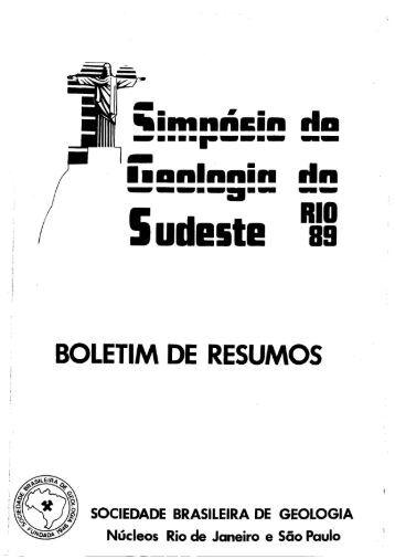 1 - Sociedade Brasileira de Geologia