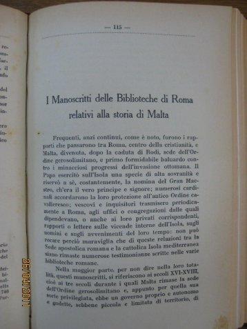 03 I Manoscritti delle Biblioteche di Roma