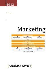Desenvolvimento de plano estratégico de Marketing