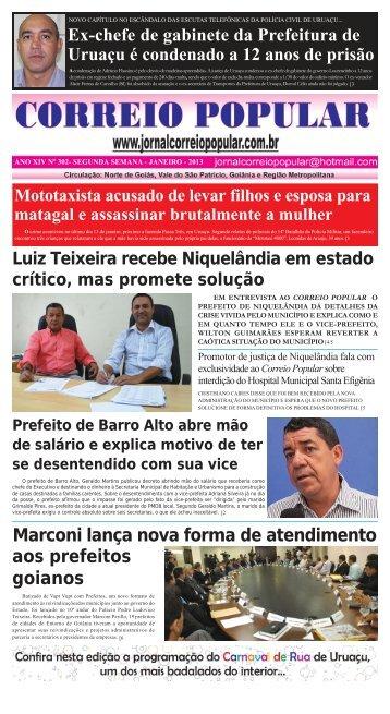 janeiro de 2013 - Jornal Correio Popular