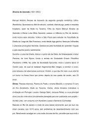 Álvares de Azevedo - Redes de Museus do Estado do Rio de janeiro