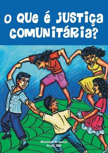 O que é Justiça Comunitária? - TJDFT