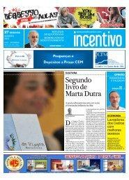 Segundo livro de Marta Dutra - Jornal INCENTIVO