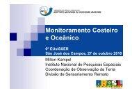 Monitoramento Costeiro e Oceânico - INPE/OBT/DGI