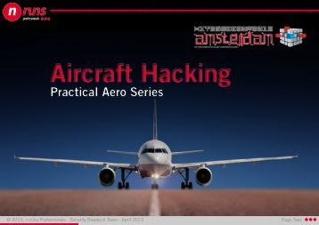 Aircraft Hacking