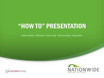 """HOW TO"" PRESENTATION"