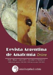revisión y descripción de las variedades anatómicas - Asociación ...