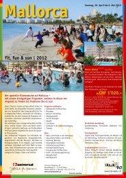 Mallorca Sonntag, 29. April bis 6. Mai 2012 - Universal