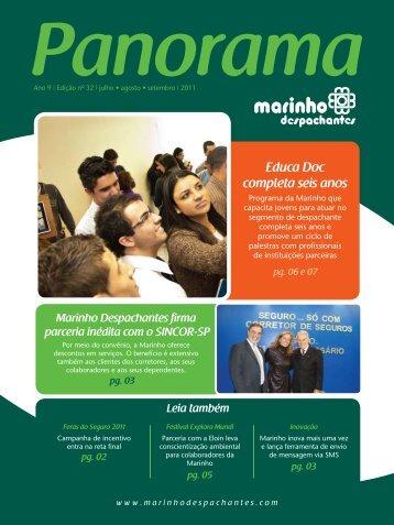 panorama nº.32 - Marinho Despachantes