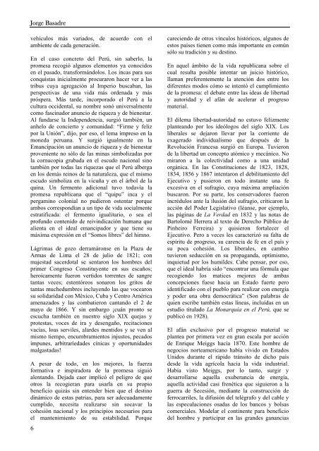 El Paraíso - Partido Político CONSTRUCTORES PERU