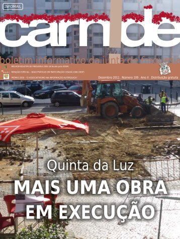 Quinta da Luz - Mais uma obra em execução - Junta de Freguesia ...