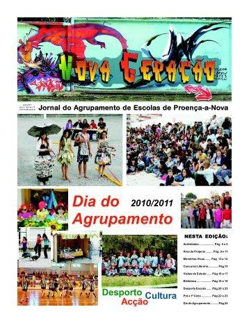Dia do Agrupamento - Agrupamento de Escolas de Proença-a-Nova