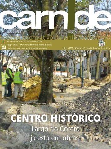 Centro Histórico - Largo do Coreto já está em - Junta de Freguesia ...