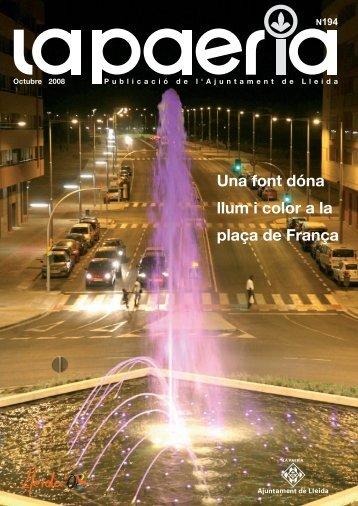 PAERIA OCTUBRE - Ajuntament de Lleida