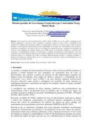 Método peculiar de Governança Corporativa por ... - UTFPR