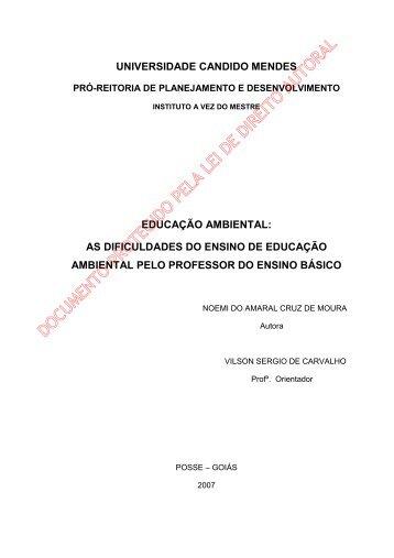 noemi do amaral cruz de moura - AVM Faculdade Integrada