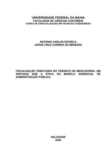 Antonio Carlos Estrela e Jorge Cruz Correia de Menezes - Sefaz Net