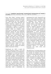 Resenha de Claus Offe, Capitalismo desorganizado - Revista de ...