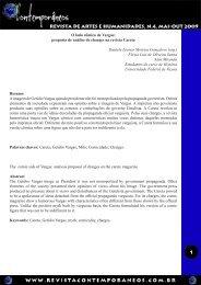 O lado cômico de Vargas - Revista Contemporâneos