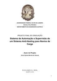 Sistema de Automação e Supervisão de um ... - Poli Monografias