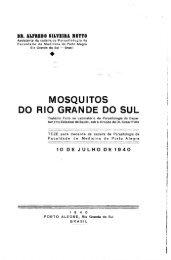 Mosquitos do Rio Grande do Sul. - Systematic Catalog of Culicidae