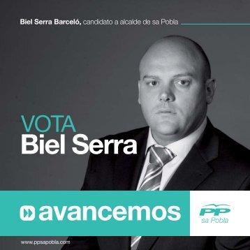Biel Serra Barceló - Partit Popular de Sa Pobla