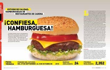¡conFiEsa, hamburguEsa!