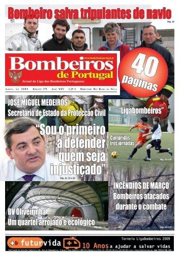 Abril - Jornal Bombeiros de Portugal