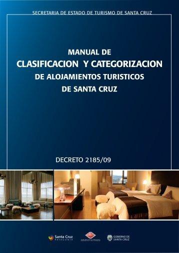 Decreto Provincial Nº 2185/09 Manual de ... - Rio gallegos