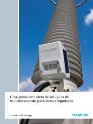 Uma gama completa de soluções de monitoramento para ...