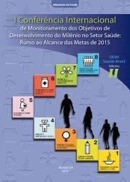I Conferência Internacional de Monitoramento dos Objetivos de ...