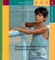 Relatório de monitoramento de Educação para ... - unesdoc - Unesco