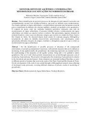 MONITORAMENTO DE AQUÍFEROS: CONSIDERAÇÕES ... - CPRM