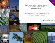 How Antitrust Laws Impact Patent Drafting and Prosecution