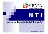 Sistemas de Controle e Monitoramento Ambiental - Sema