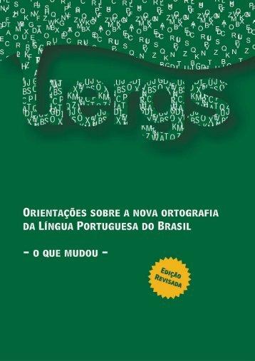 Guia da Reforma Ortográfica - Edição Revisada ... - Faders