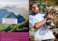 klingt gut - Toggenburg Tourismus