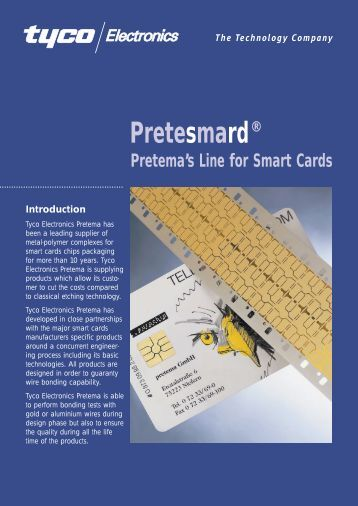 The Technology Company Pretesmard® Pretema's Line for Smart ...