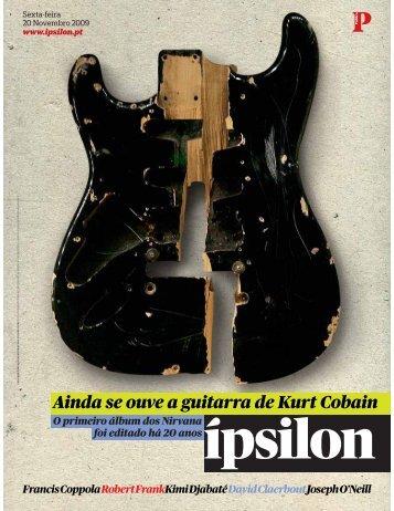 Ainda se ouve a guitarra de Kurt Cobain - Fonoteca Municipal de ...