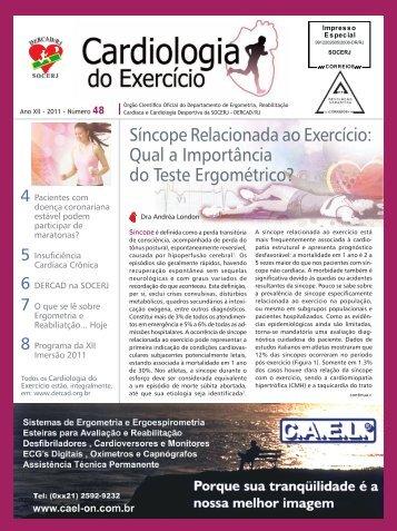 Síncope Relacionada ao Exercício: Qual a Importância ... - DERCAD