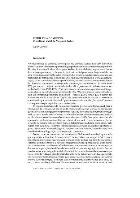 Entre Cila E Caríbdis O Realismo Social De Margaret Scielo