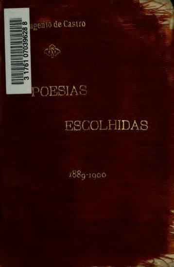 Poesias escolhidas, 1889-1940