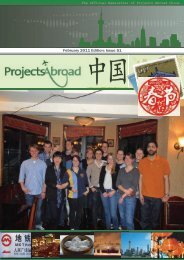 February 2011 Edition: Issue 51 - Projects Abroad