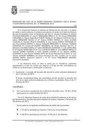 Acta2) 21 de febrero de 2013 - Ayuntamiento de Palencia