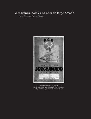 A militância política na obra de Jorge Amado