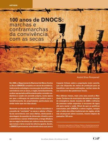 100 anos de DNOCS: marchas e contramarchas da ... - Sei