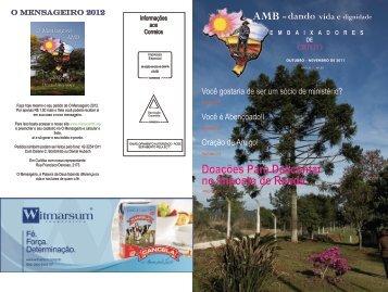 Edição 59 - Outubro Novembro 2011 - O Mensageiro